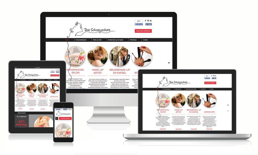 Creayv grafische vormgeving, dtp en webdesign Tess Schoonackers