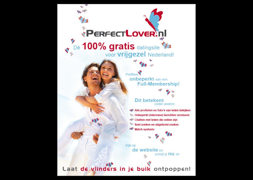 Grafisch vormgever voor perfectlover.nl | advertentie