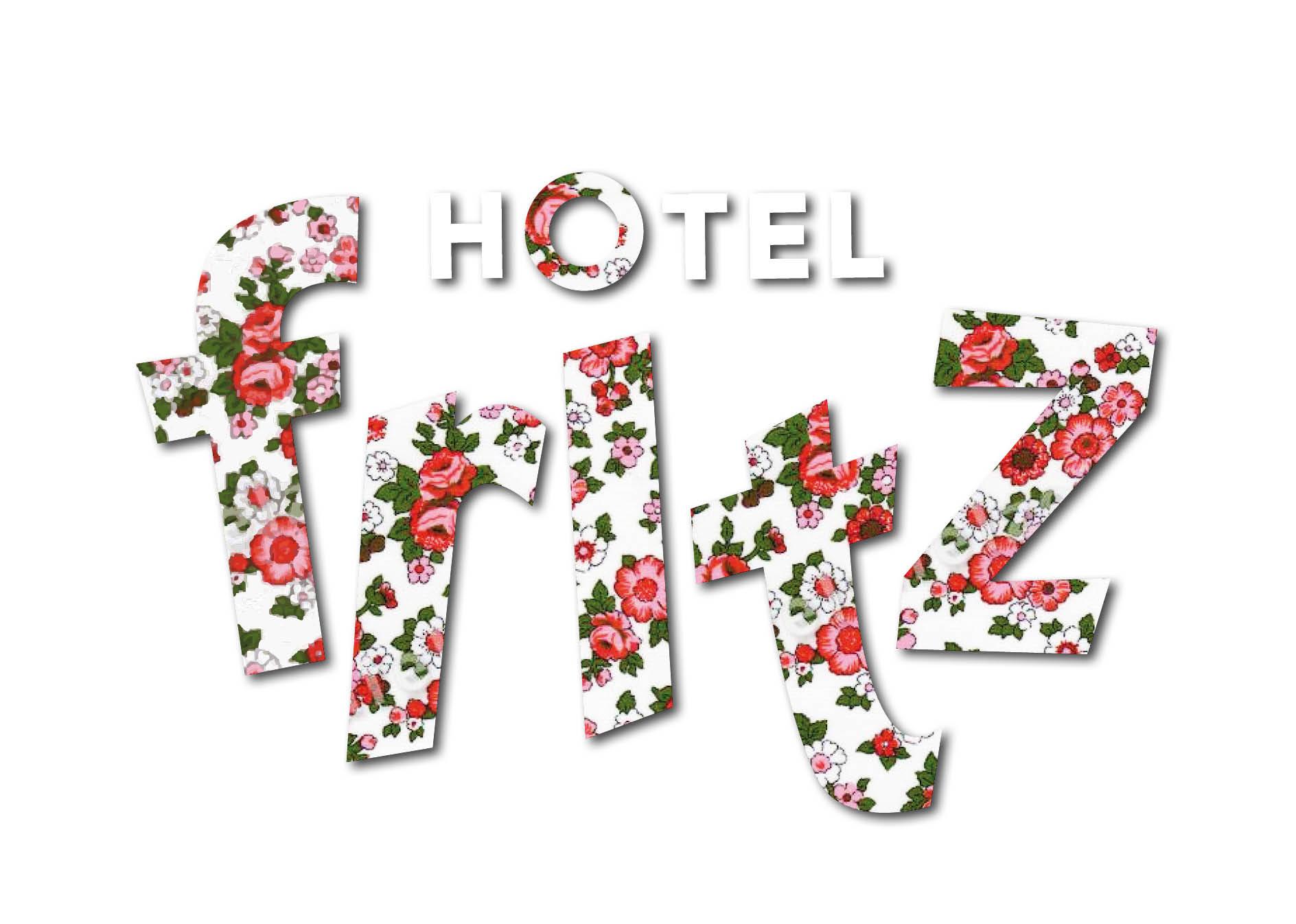 Creayv grafische vormgeving en dtp logo hotel Fritz voor GMI school
