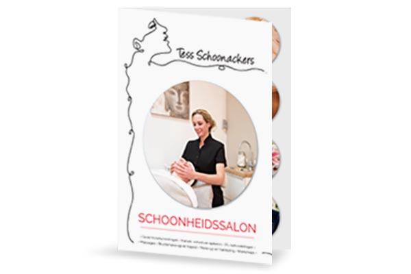 Creayv grafische vormgeving en dtp folder Tess Schoonackers