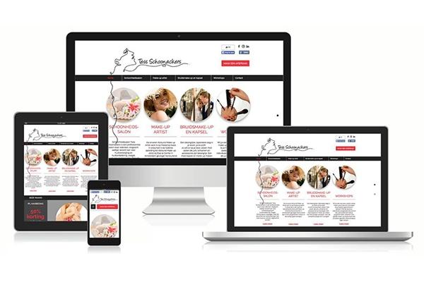 Creayv grafische vormgeving en dtp website Tess Schoonackers