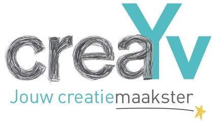 Logo creayv jouw creatiemaakster yvonne van der velden