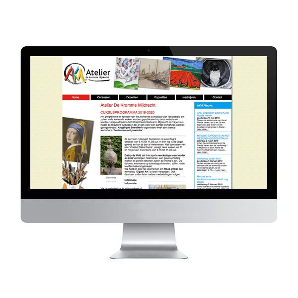 Website Atelier de Kromme Mijdrecht